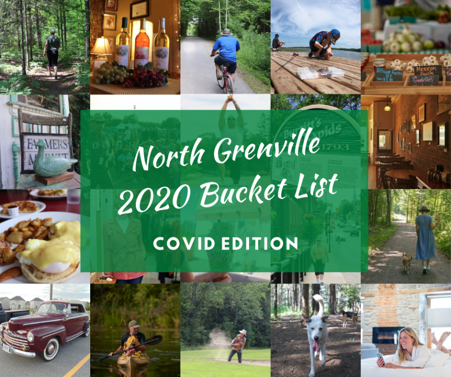 North Grenville 2020 Bucket List - COVID Edition